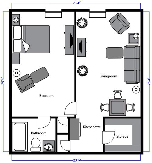 Hopedale Senior Living – Senior Independent Living Floor Plans
